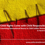 Child Rights come with Child Responsibilities