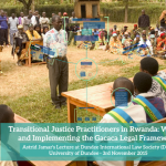Transitional Justice Practitioners in Rwanda