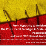 From Hypocrisy to Ambiguity: The Post-Liberal Paradigm in State- and Peacebuilding