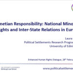 Venetian Responsibility: National Minority Rights and Inter-State Relations in Europe