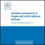 Substate Constitutions in Fragile and Conflict-affected Settings