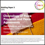 Chronology of Peace Process and Peace Agreements between the Philippines and the National Democratic Front