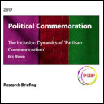 Political Commemoration: The Inclusion Dynamics of 'Partisan Commemoration'