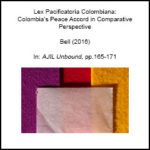 Symposium on the Colombian Peace Talks and International Law