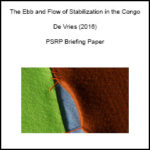 The Ebb and Flow of Stabilization in the Congo