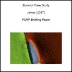 Burundi Case Study