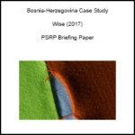 Bosnia-Herzegovina Case Study