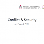 Conflict & Security