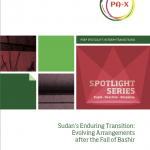 Sudan's Enduring Transition: Evolving Arrangements after the Fall of Bashir