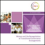Women and the Renegotiation of Transitional Governance Arrangements