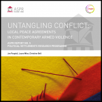 Untangling Conflict: Local Peace Agreements in Contemporary Armed Violence