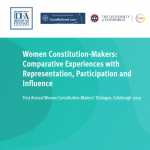 Women Constitution-Makers: Comparative Experiences with Representation, Participation and Influence