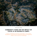 Community Views on the Impact of Covid-19 in Rohingya Camps