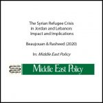 The Syrian Refugee Crisis in Jordan and Lebanon: Impact and Implications