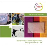 Implementing Peace Agreements through Domestic Law