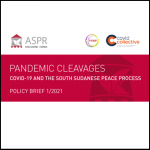 Pandemic Cleavages: Covid-19 and the South Sudanese Peace Process